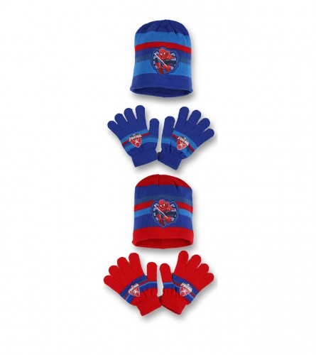 Set kapa i rukavice 780-222 SPIDERMAN