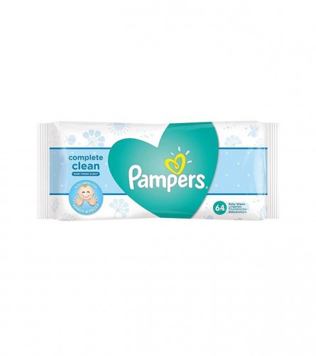 PAMPERS Maramice vlažne natural 64/1