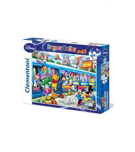 CLEMENTONI Puzzle 104kom Mickey Mouse maxi 23650