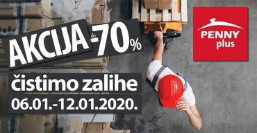 Akcija -70% - Čistimo zalihe!