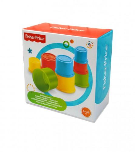 Igračka čašice šarene PVC za sklapanje
