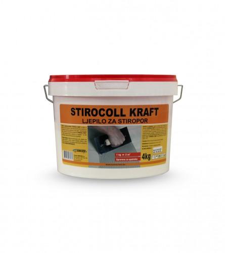 Komchem Stirocoll kraft 4kg ljepilo za stiropor