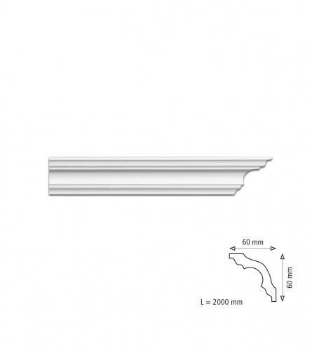 Stiroporna lajsna K60