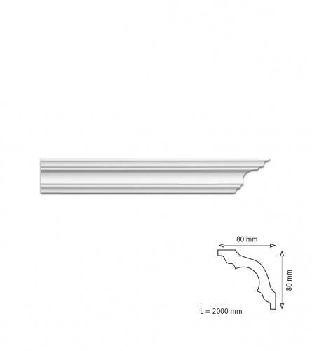Stiroporna lajsna K80
