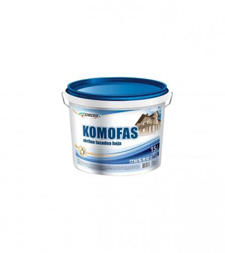KOMOCHEM Boja fasadna akrilna 0,75l Komofas