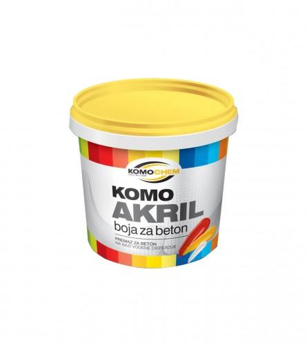 Komchem Komoakril boja za beton smeđa 0,75L