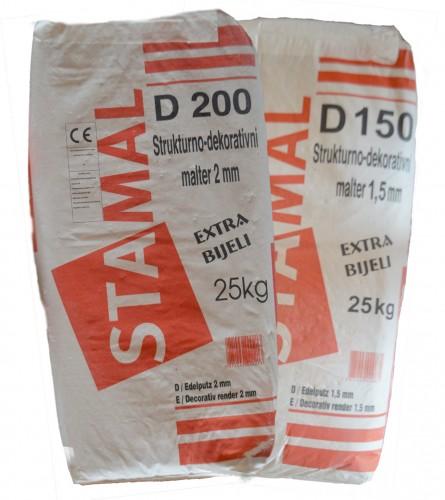 STAMAL Malter završni fasadni SDM Extra bijeli D150-200 25/1