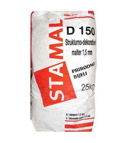 STAMAL Malter završni fasadni D150-200 25/1 bijeli