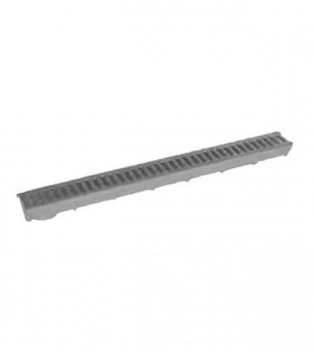 WOLFARTH Kanalica PVC siva 8,5x100cm ER100-8