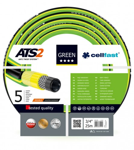 "Cellfast Crijevo 3/4"" 25m GREEN ATS2"