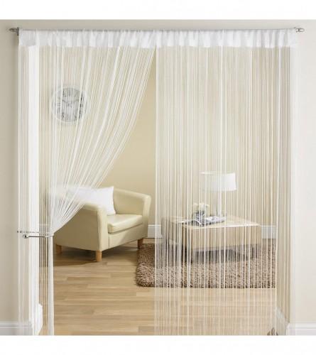 MASTER Zavjesa 1,45x2,45 bijela String