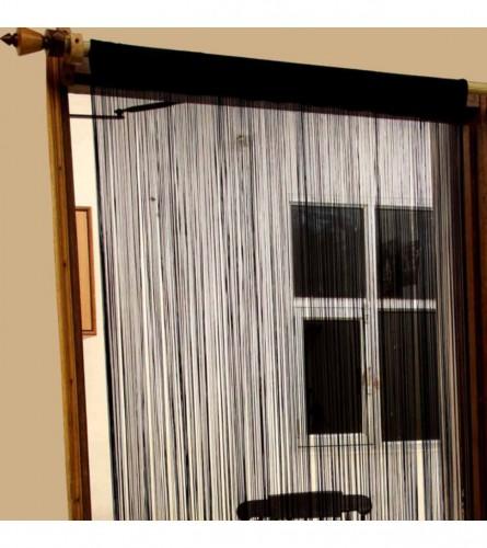 MASTER Zavjesa 1,45x2,45 crna String