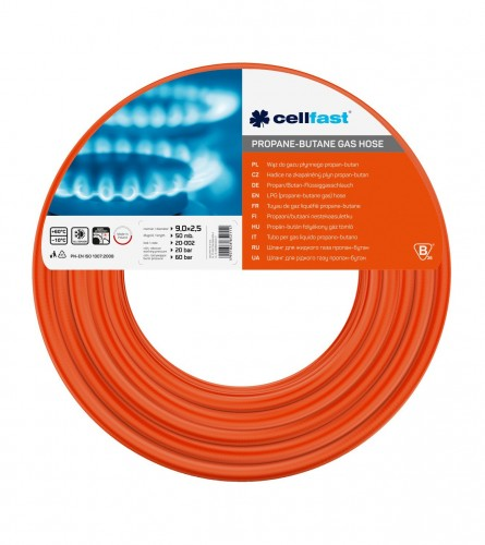 CELLFAST Crijevo za gas 9,0x3,0mm 50m 6044-20-001