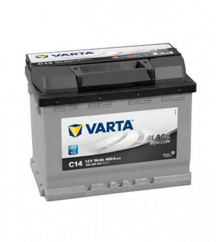 VARTA Akumulator 12V-56Ah D + BLACK dynamic