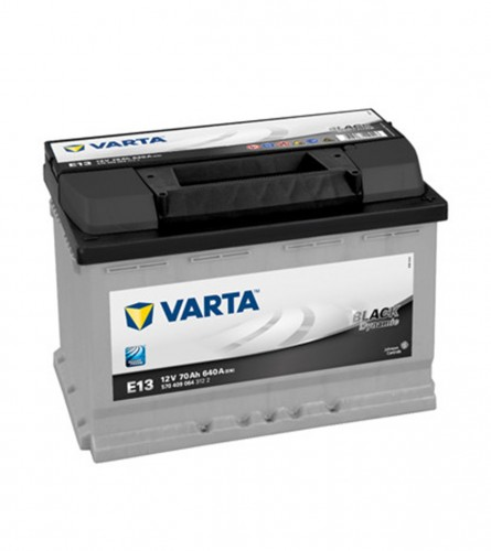 VARTA Akumulator 12V-70Ah D + BLACK dynamic