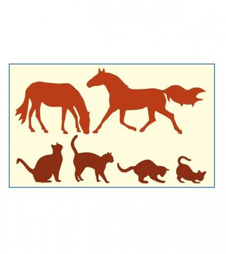 Dekor za zid 101116 Životinje