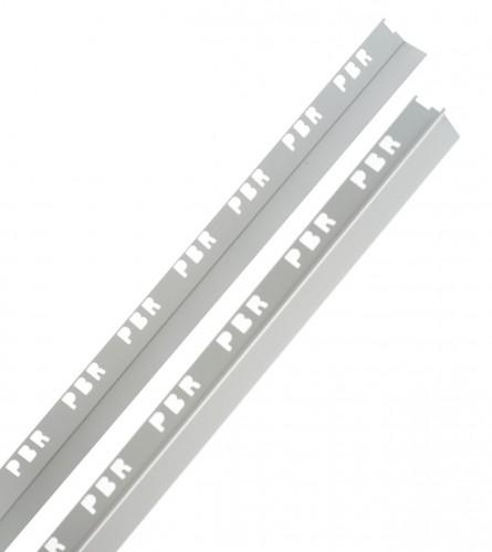 MASTER Lajsna aluminijska PBR 17-1 sa ravnom okapnicom 2,7m 10mm 1342-24040055
