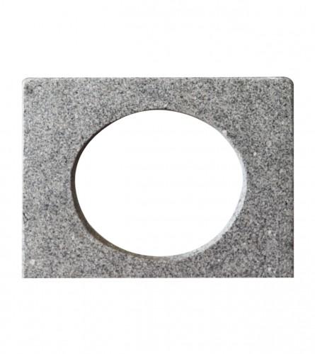 MASTER Ploča za umivaonik ugradbena 70x52x2,5cm PORINJO