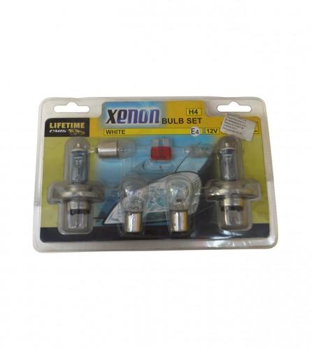 Sijalice za auto set H4 xenon