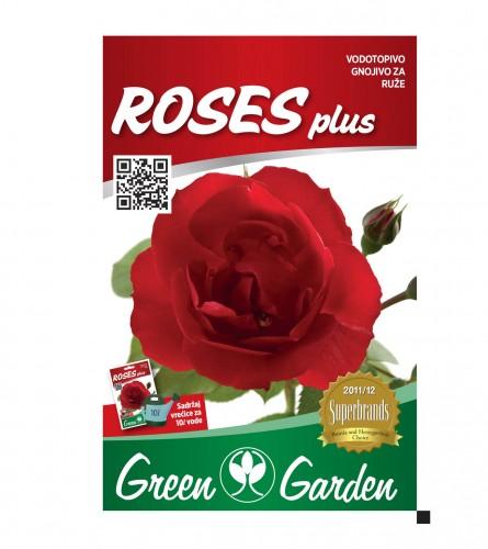 GREEN GARDEN Vodotopivo gnojivo za ruže 25gr