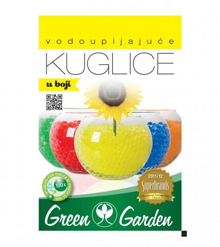 GREEN GARDEN Vodoupijajuće kuglice 10gr žute