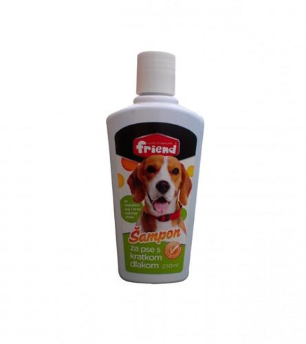Friend Šampon za pse sa kratkom dlakom 250ml