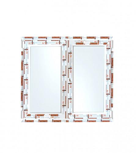 Prozor PVC 140x140cm DUPLI