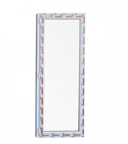 Vrata PVC balkonska 80X210cm L+D