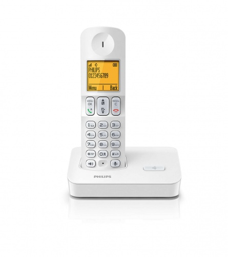 PHILIPS Telefon bežični D4001W\53