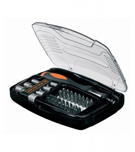 Black&Decker Set za vijke 40/1 blister A7062