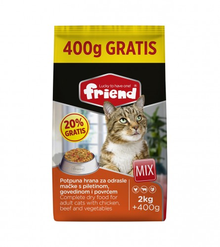 FRIEND Hrana za mačke MIX 2kg