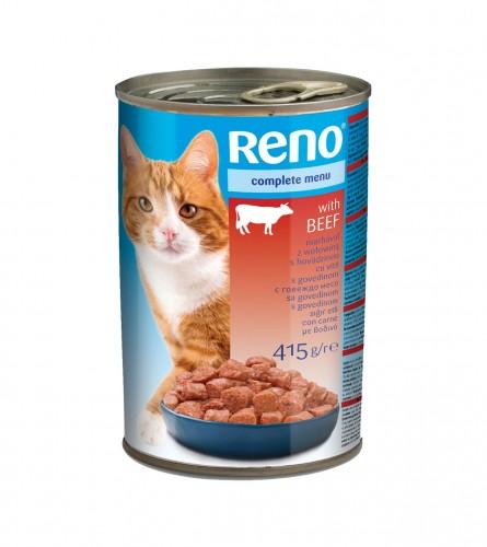 RENO Hrana za mačke govedina 415g P93434