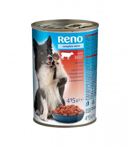 RENO Hrana za pse govedina 415g P93437