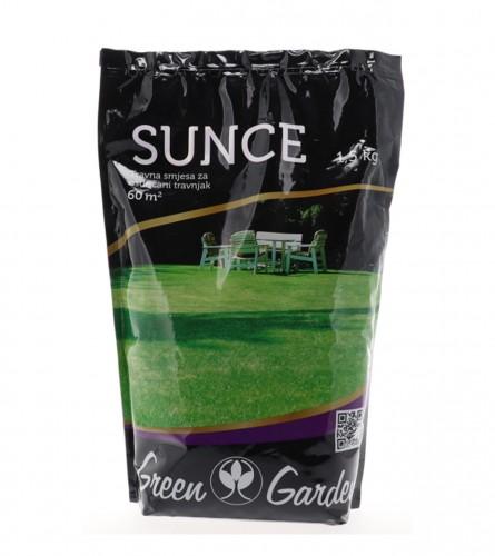 GREEN GARDEN Travna smjesa za osunčani travnjak Green Garden 1,5kg 006722