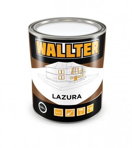 WALLTER Lazur boja ebanovina 0,75L