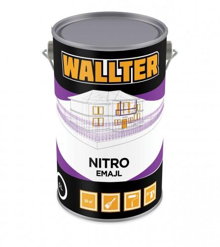 Nitro emajl boja bijela 5L