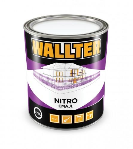 WALLTER Nitro emajl boja siva 0,75L