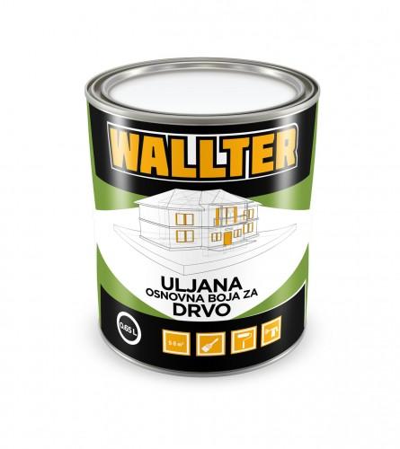 WALLTER Uljana osnovna boja za drvo 0,65L
