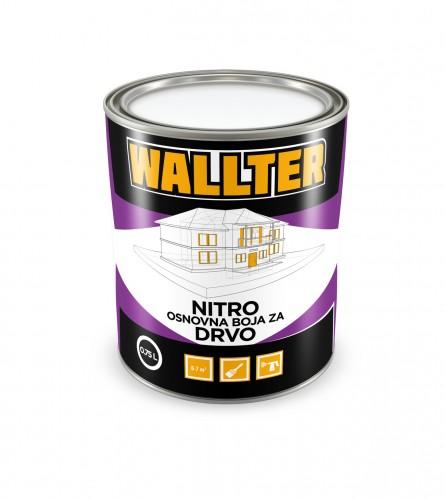 WALLTER Nitro osnovna boja za drvo 0,75L