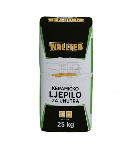 WALLTER Keramičko ljepilo za unutrašnju upotrebu 25kg