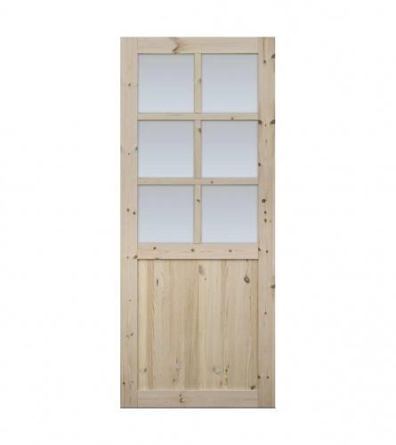 Vrata sa štokom staklena EKO FOG 6S 80L