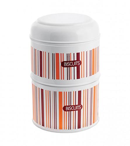 NAVA Kutija za kolači 2/1 12010-STRIP-WH-PRT-WH