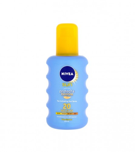 Nivea Spray sun protect&bronze 200ml SPF 20