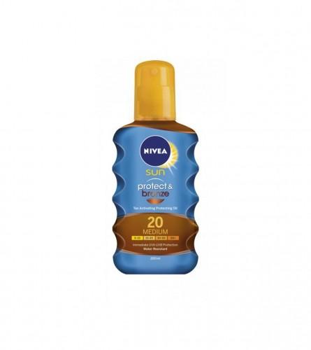 Nivea Ulje za sunčanje protect&bronze 200ml SPF 20