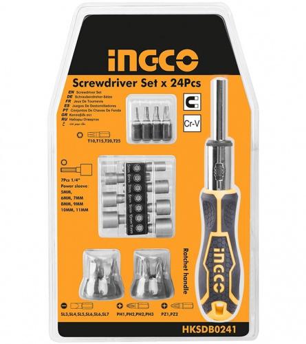 INGCO Tools Izvijač sa bitovima set 24/1 HKSDB0241