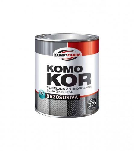 KOMOCHEM Temeljna boja za metal Komokor 0,20ml Crvena