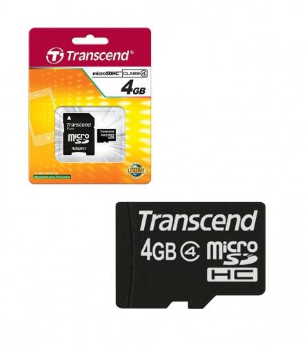 Transcend Micro SD kartica 4GB class4