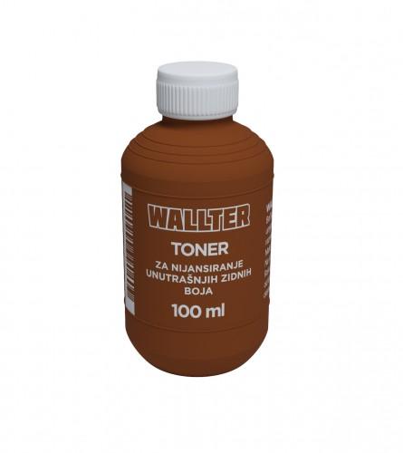 WALLTER Toner braon 0,10L