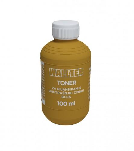 WALLTER Toner oker 0,10L
