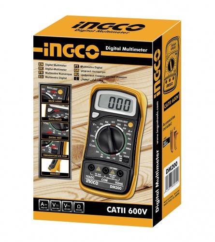 INGCO Tools Digitalni multimetar DM200